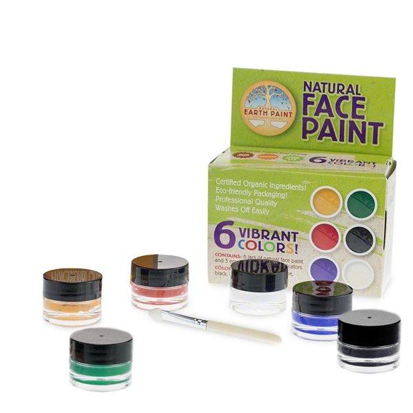 Gesichtsmalset 6 Farben   greenstories