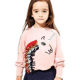 Einhorn Shirt rosa