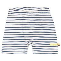 Leichte Streifen Shorts marine