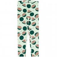 Leichte Leggings Wassermelonen in grün