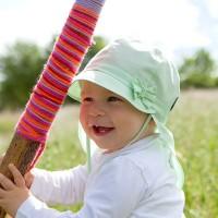 Vorschau: Sommermütze mitwachsend mit Nackenschutz pure pure