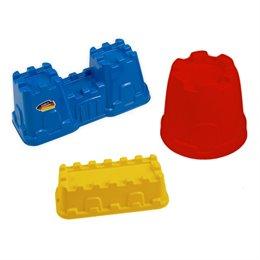 Burgen Set 3tlg. Schnee- & Sandspielzeug