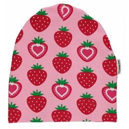 Erdbeere Beanie Kindermütze