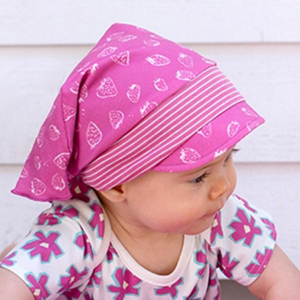 Kopftuch Stirnband Capi Erdbeere