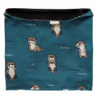 Schlauchschal warm leicht Otter blau 98/140