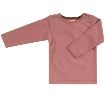 Edles rosa Interlock uni Shirt
