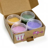 Bio Fingerfarben für klein Kinder 4er Set LUCA