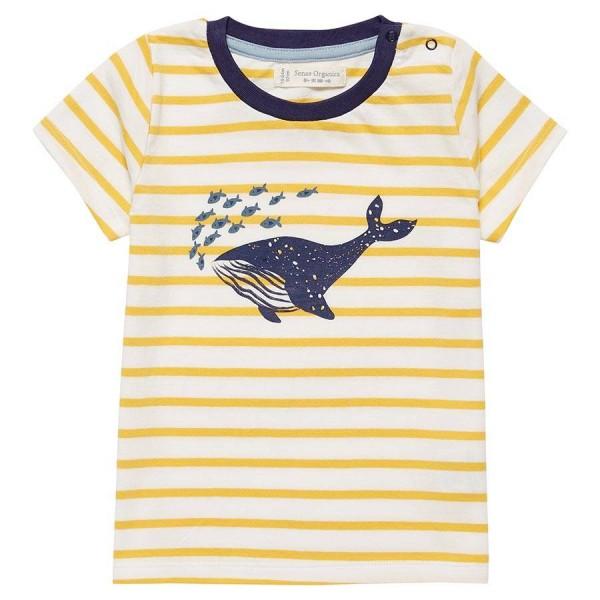 Wal Shirt gelb gestreift