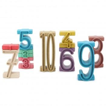 Stapelzahlen 100er Zahlenraum 34 Stück bunt