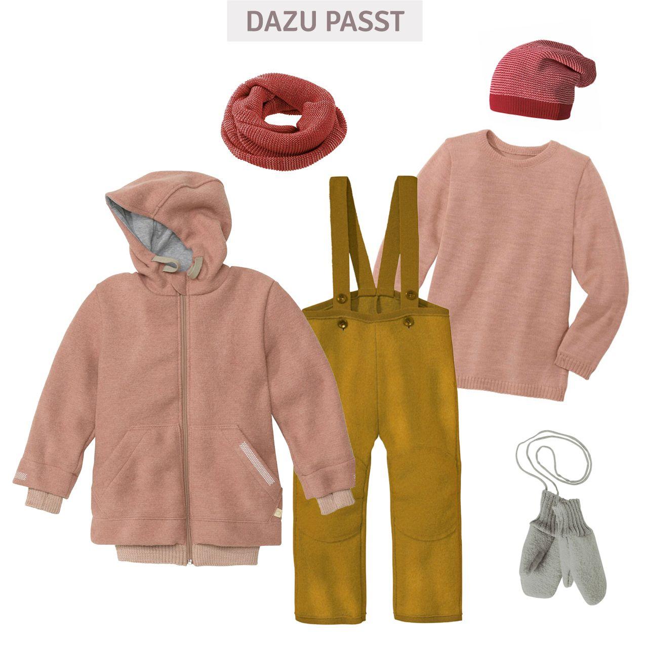 Walk Outdoor Jacke gefüttert in rosa