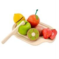 Holz Obst zum Schneiden