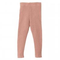 Woll Leggings rosa warm und mitwachsend