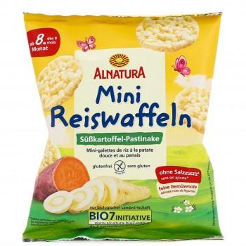 Mini Reiswaffeln Süßkartoffel-Pastinake ab 8 M. (30g)