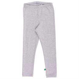 Graue Basic Leggings elastisch