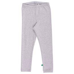 Graue Basic Leggings elastisch