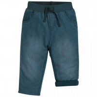 Bequeme Schlupf Jeans gefüttert in blau