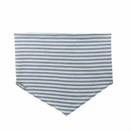 Elastisches Halstuch für Kinder grau