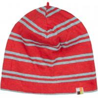 leichte Mütze Leinen rot