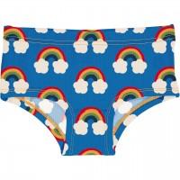 Hipster Regenbogen in blau