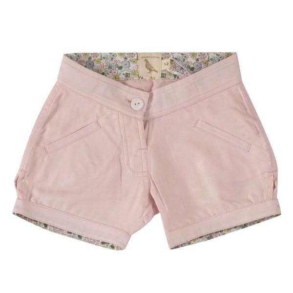 Robuste Shorts Mädchen rosa