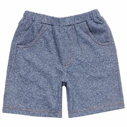 Weiche Jungen Sweat Shorts in blau