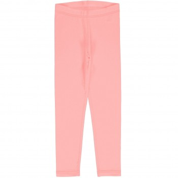 Sweat Leggings uni in leuchtendem rosa