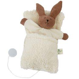 Spieluhr Hase im Schlafsack Guten Abend von Brahms
