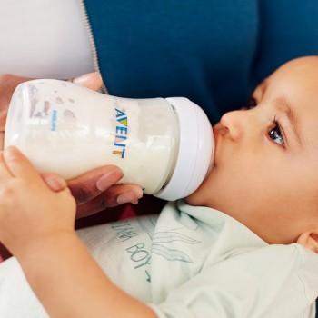 Milchflasche AVENT natural 260 ml Gr. 1 m+