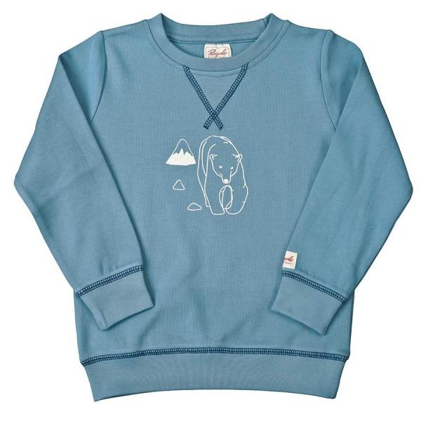 Leichtes Sweatshirt Junge Eisbär   greenstories ad1d273542