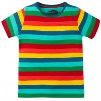 Shirt kurzarm bunte Streifen