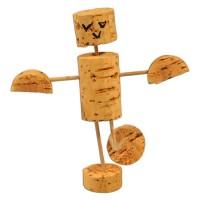 Bastelkorken – Set Kork Figur 9 Teile