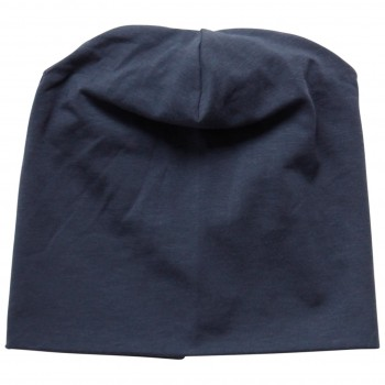 Softe dehnbare Beanie midnight
