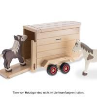 Vorschau: Pferdeanhänger 32 cm Vollholz 3 - 8 Jahren