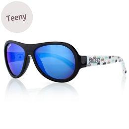 Sonnenbrille 7-16 Jahre schadstofffrei Autos blau