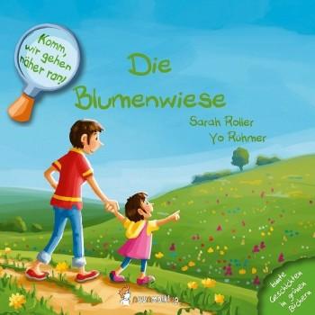 Pflanzlich gefärbtes Buch – Die Blumenwiese
