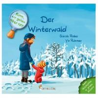 Pflanzlich gefärbtes Buch ohne Chemie - Winter