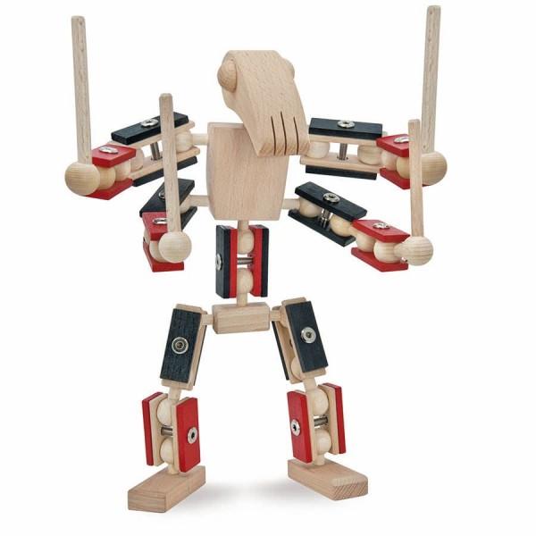 Helden aus Holz Bausatz Zero ab 3 bis 12 Jahre