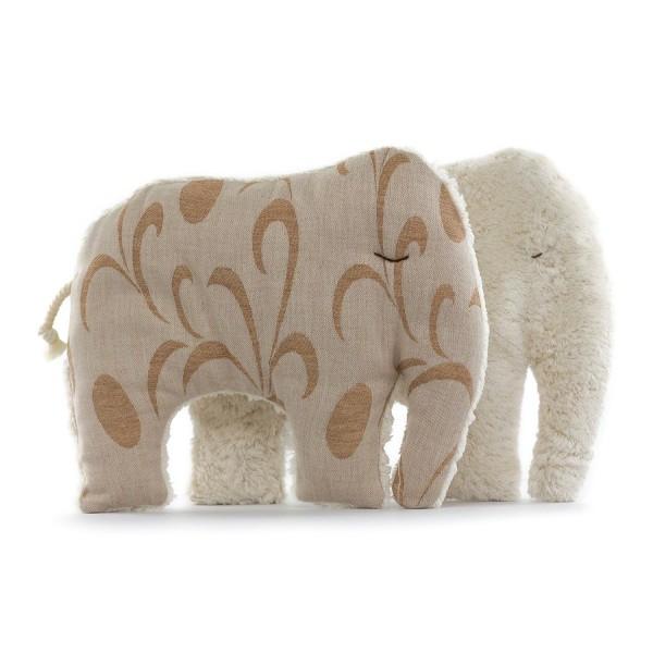 Kuschelkissen 1 Elefant hell