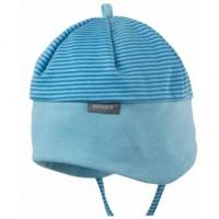 Bio Babymütze für die Übergangszeit von pure pure - blau