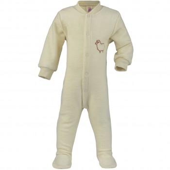Frottee Strampler Schlafanzug mit Fuß - kühlere Jahreszeit