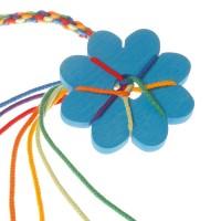 Vorschau: Knüpfblumen Set, blau