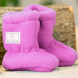 Woll Stiefel Baby pink