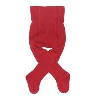 Kinderstrumpfhose Feinstrick - Feinstrick rot
