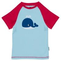 Softes T-Shirt mit knuffigem Wal