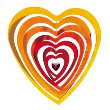 Mobile schwingende Herzen 30 cm