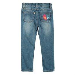 Weiche Bio Jeans Hose für Mädchen