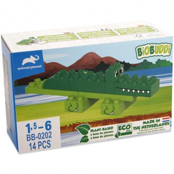 Krokodil Animal Planet Bausteine 14 Teile