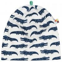 leichte Mütze Krokodile in dunkelblau/hell