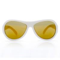 Vorschau: 3-7 Jahre flexible Sonnenbrille uni weiß polarisiert