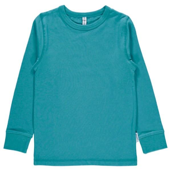26c5ead459 MAXOMORRA BIO Langarm Shirt petrol online kaufen